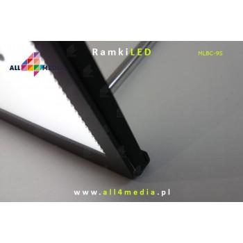LED standing frame-Black...