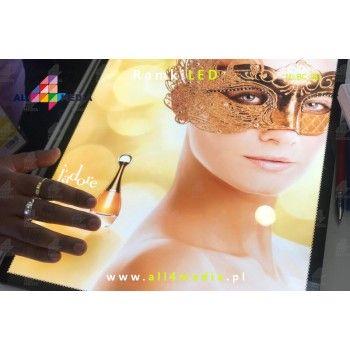 LED-wall-frame Silver A4 / A3 / A2 / A1 / 6090/60120