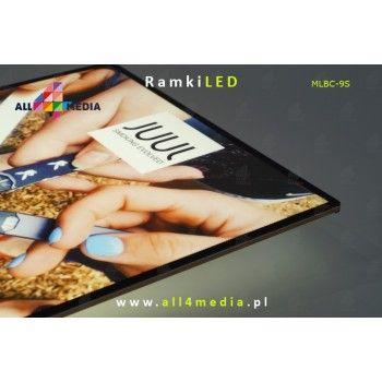 Ramka LED-ścienna-Gold A4/A3/A2/A1/6090/60120
