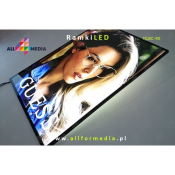 LED-wall frame-Black A4 /...