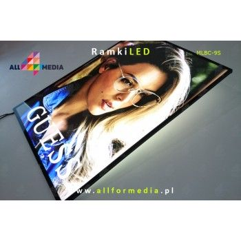 Ramka LED-ścienna-Black A4/A3/A2/A1/6090/60120