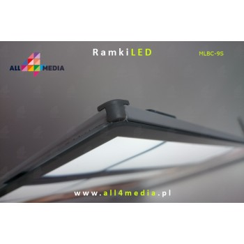 LED-wall-A2 frame white