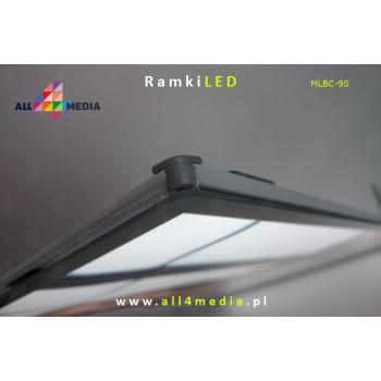 Ramka LED-ścienna-A2 biała