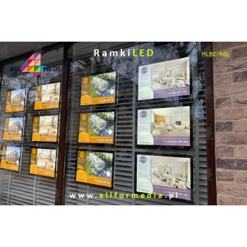 LED Frame For A4 Sites...
