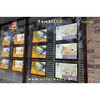 LED Frame For Sites 6xA4...