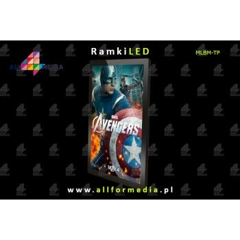 Ramka LED Magnetic 70x50cm