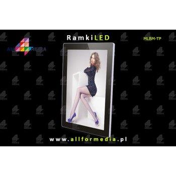 Ramka LED Magnetic A1 617x863mm - Silver+Black