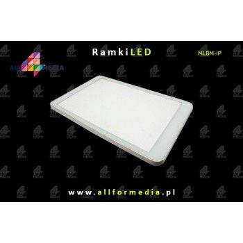 Gablota iPhone Biała-White - 43x68cm - zamykana magnetycznie