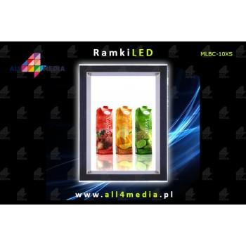 Ramka LED-ścienna-A3 Crystal