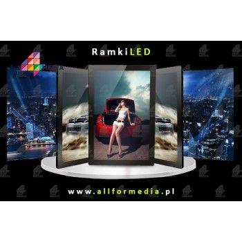 Ramka LED Magnetic-White...
