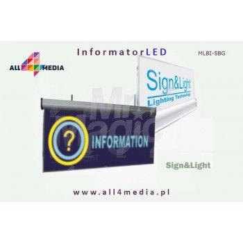 Informator LED 10mm / stojący