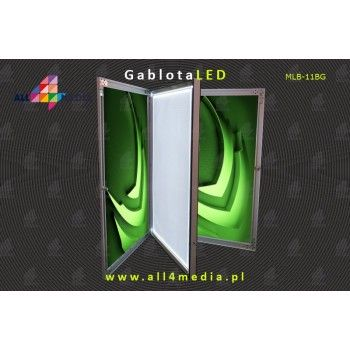 Cabinet Double-sided IP65 A1-B2 locked with a key