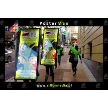 PosterMan Mobilny Billboard LED