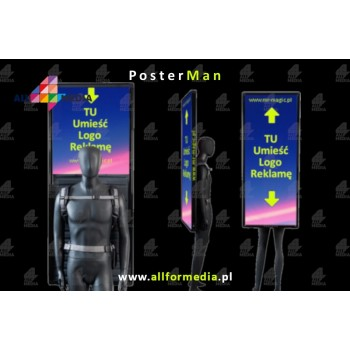 PosterMan Mobile Billboard LED