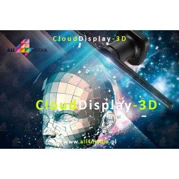 Cloud Display 3D / 43cm - RGB LED display