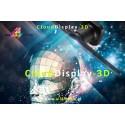 Cloud Display 3D WiFi/43cm...