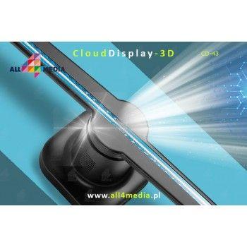 Cloud Display 3D WiFi / 43cm - RGB LED display