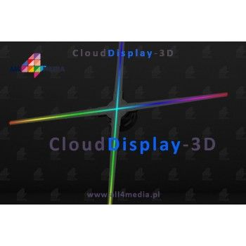 Cloud Display 3D WiFi / 50cm - RGB LED display