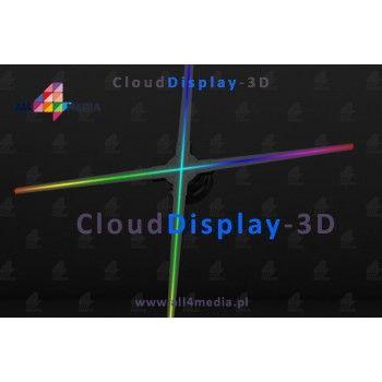 Cloud Display 3D WiFi/70cm - wyświetlacz LED RGB