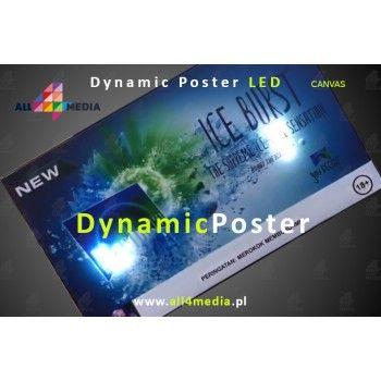 Poster Dynamiczny LED-A2/A1 MLBF-20DSH