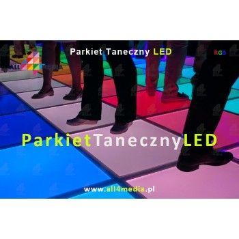 Szklana Podłoga LED RGB 600x600x34mmm
