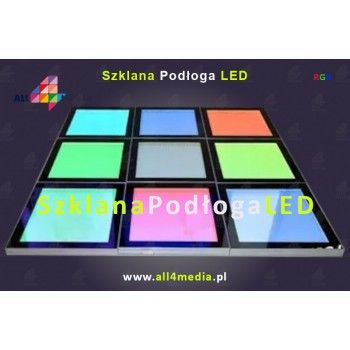Szklana Podłoga LED RGB 600x600x44mmm