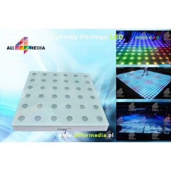 Parkiet Taneczny 4x4-LED RGB 2,4x2,4m