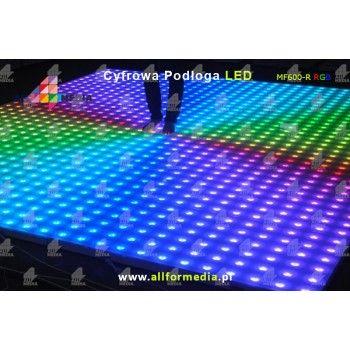 Parkiet Taneczny 10x10-LED RGB 6x6m