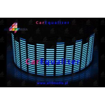 Car Equalizer - Naklejka Muzyczna