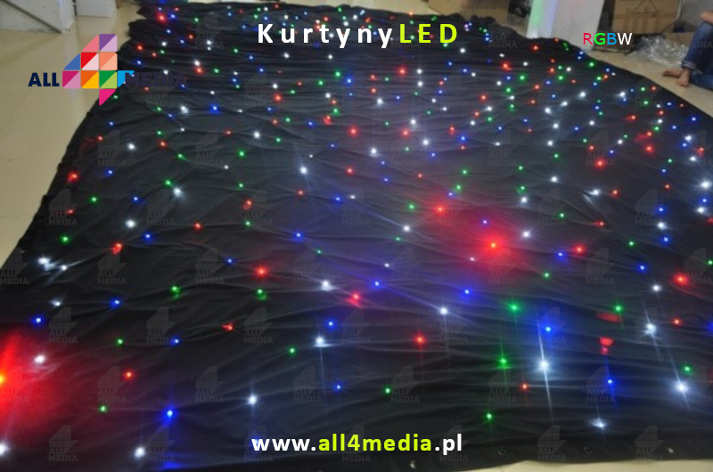 3-2 LED curtains weddings events all4media-pl Black RGBWLED.jpg