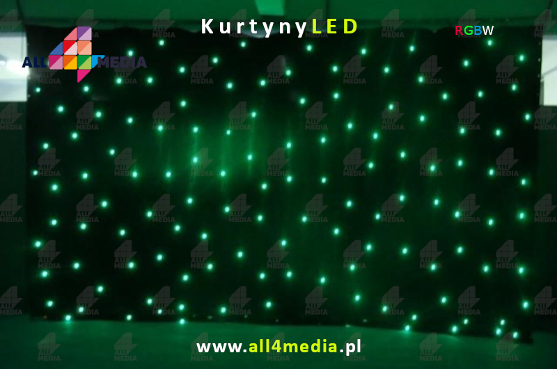 3-8 LED curtains weddings events all4media-pl Black RGBWLED.jpg